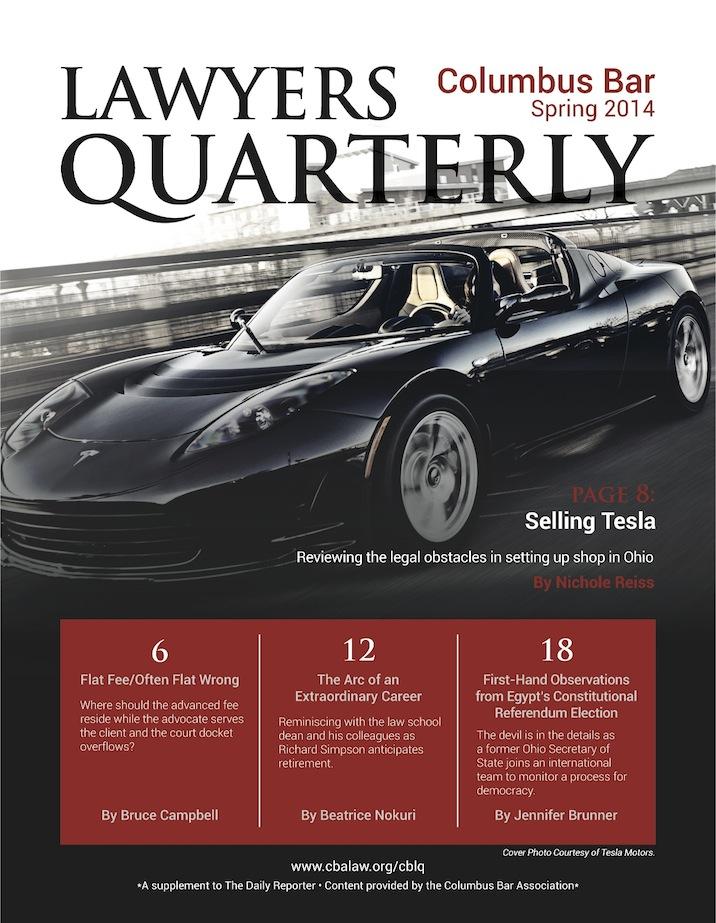 Columbus Bar Lawyers Quarterly (2014 - Spring)