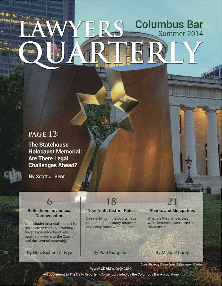 Columbus Bar Lawyers Quarterly (2014 - Summer)