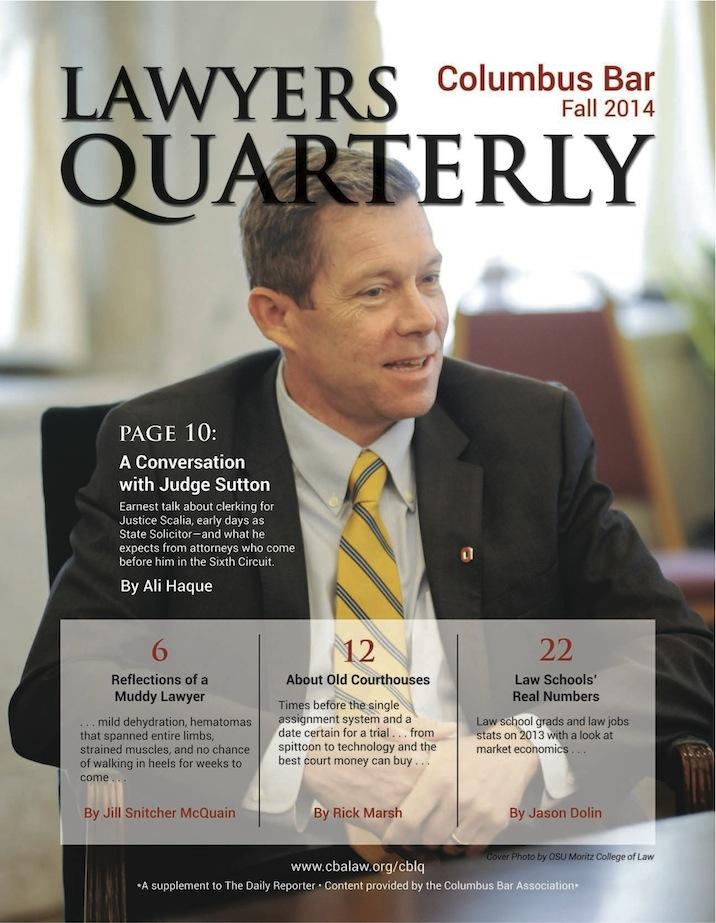 Columbus Bar Lawyers Quarterly (2014 - Fall)