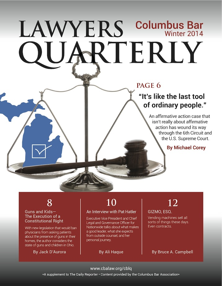 Columbus Bar Lawyers Quarterly (2014 - Winter)