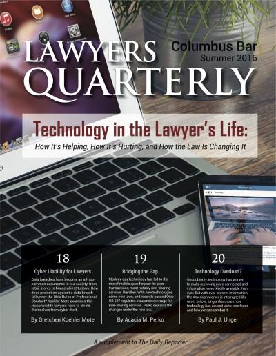 Lawyers Quarterly (2016 - Summer)