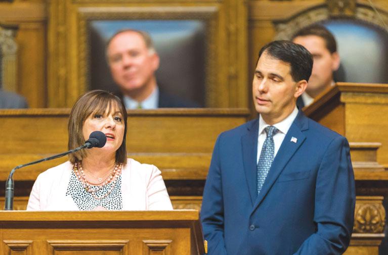 Walker's Wisconsin lower tuition idea shuffles political alliances