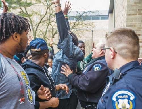 Colleges confront a new era of sometimes-violent protest