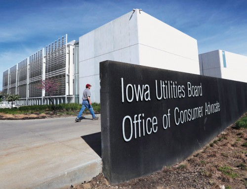 Amid cuts, new Iowa state building gets pricey redo