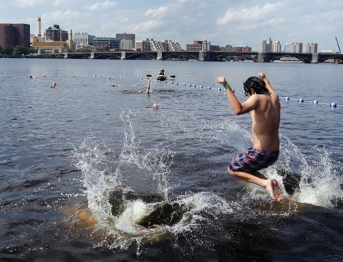 Cities aiming to reclaim once-polluted rivers for swimming following clean-ups