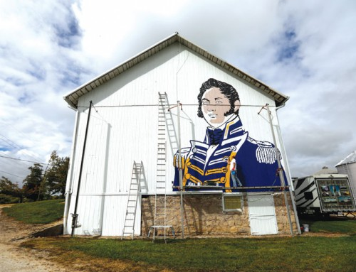 Painter sets out to put historical images on barns across Ohio