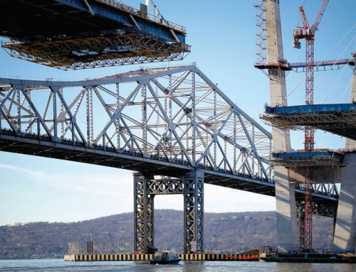 Pieces of once-mighty Tappan Zee bridge get new life in rural towns