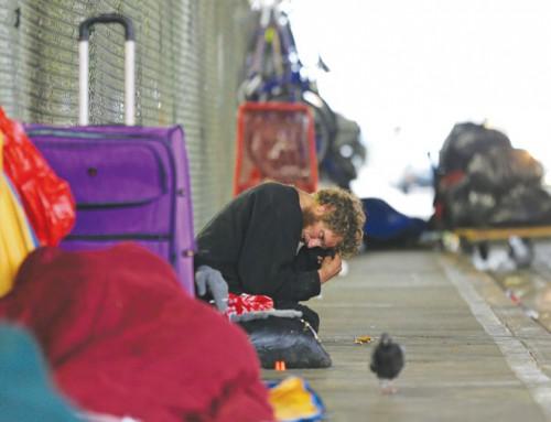 Mentally ill, drug-addicted homeless pose challenge for Everett, Wash.