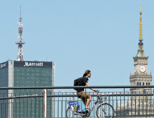 Once-drab Warsaw changed by wealth into booming modern city