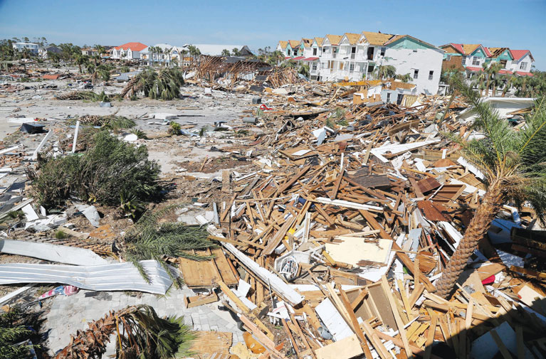 Could Rebuilding Ruin Mom And Pop Florida S Mexico Beach The Daily Reporter