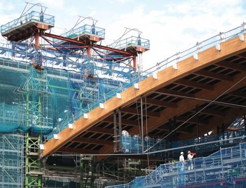 Raising the roof on 2020 Tokyo Olympics gymnastics venue