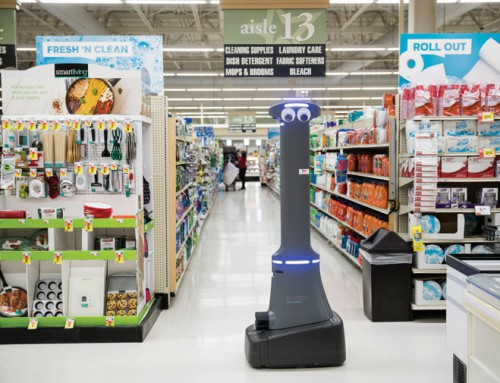 Grocery robots detect spills – with some far-off human help