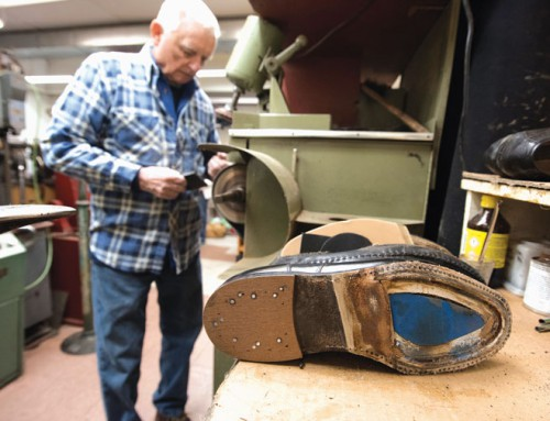 Sole saver: Pennsylvania man stays busy as a cobbler