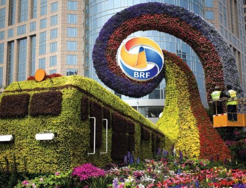 Beijing celebration of building binge overshadowed by debt