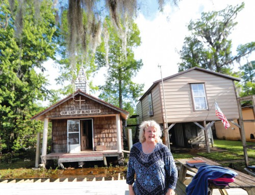 Louisiana man tries to preserve tiny wooden chapel built by grandparents