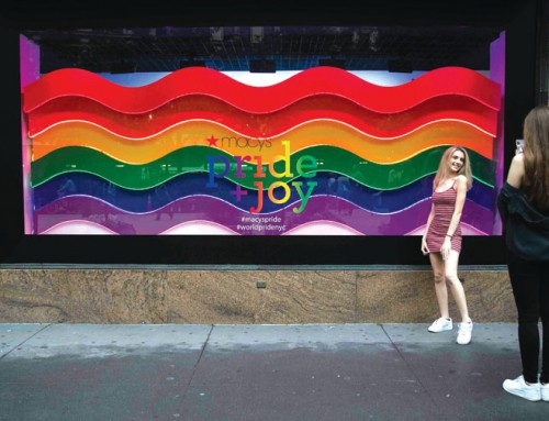 A retail rainbow: Vendors mark LGBTQ Pride on sales racks