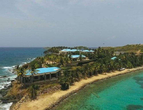 Whispers, suspicion about Epstein on Caribbean island he owns