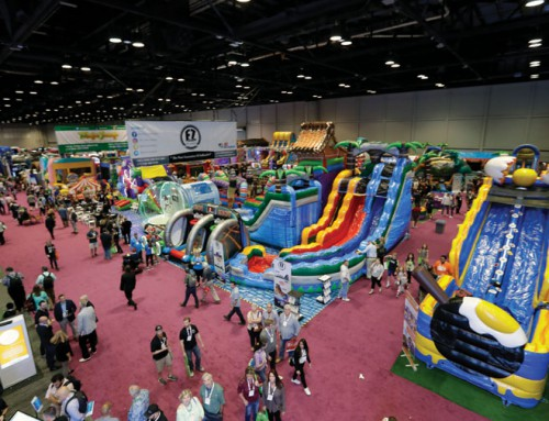 With thrills and lights, theme park conclave back in Orlando