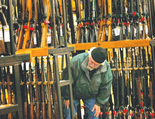 Gun background checks are on pace to break record this year amid restrictions concerns